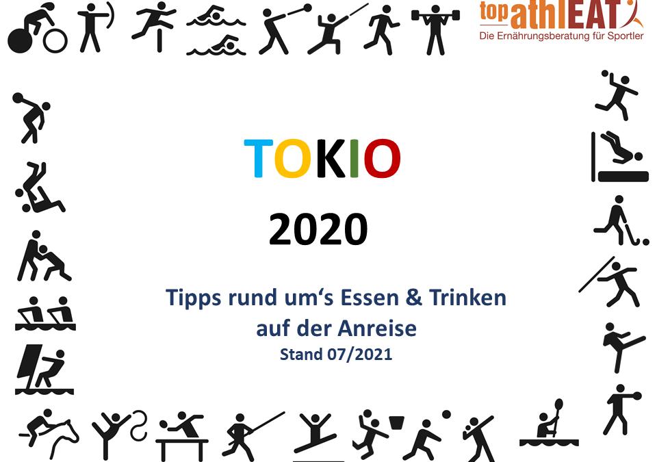 Tokio 2020 – Tipps rund ums Essen während der Anreise
